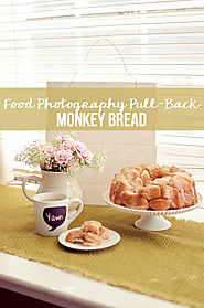 Food Photography Pull-Back: Monkey Bread