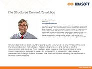 The Structured Content Revolution