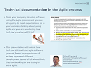 Technical documentation in the Agile process