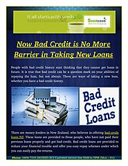 Why Bed Credit Loans is Not a Barrier?
