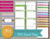 The Polka Dot Posie: Planner Pages