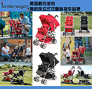 Black Color,Red Color Twins Pram,Baby Boy and Girls Twins Stroller,Strollers for Twins,Take Seriously Every Detail of...