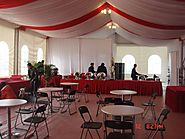 Outdoor Marquee Tent for Reception