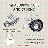 Meet every baker's Best Friend! These Measuring