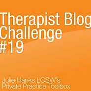 Therapist Blog Challenge #19: Parenting a Special Needs Child