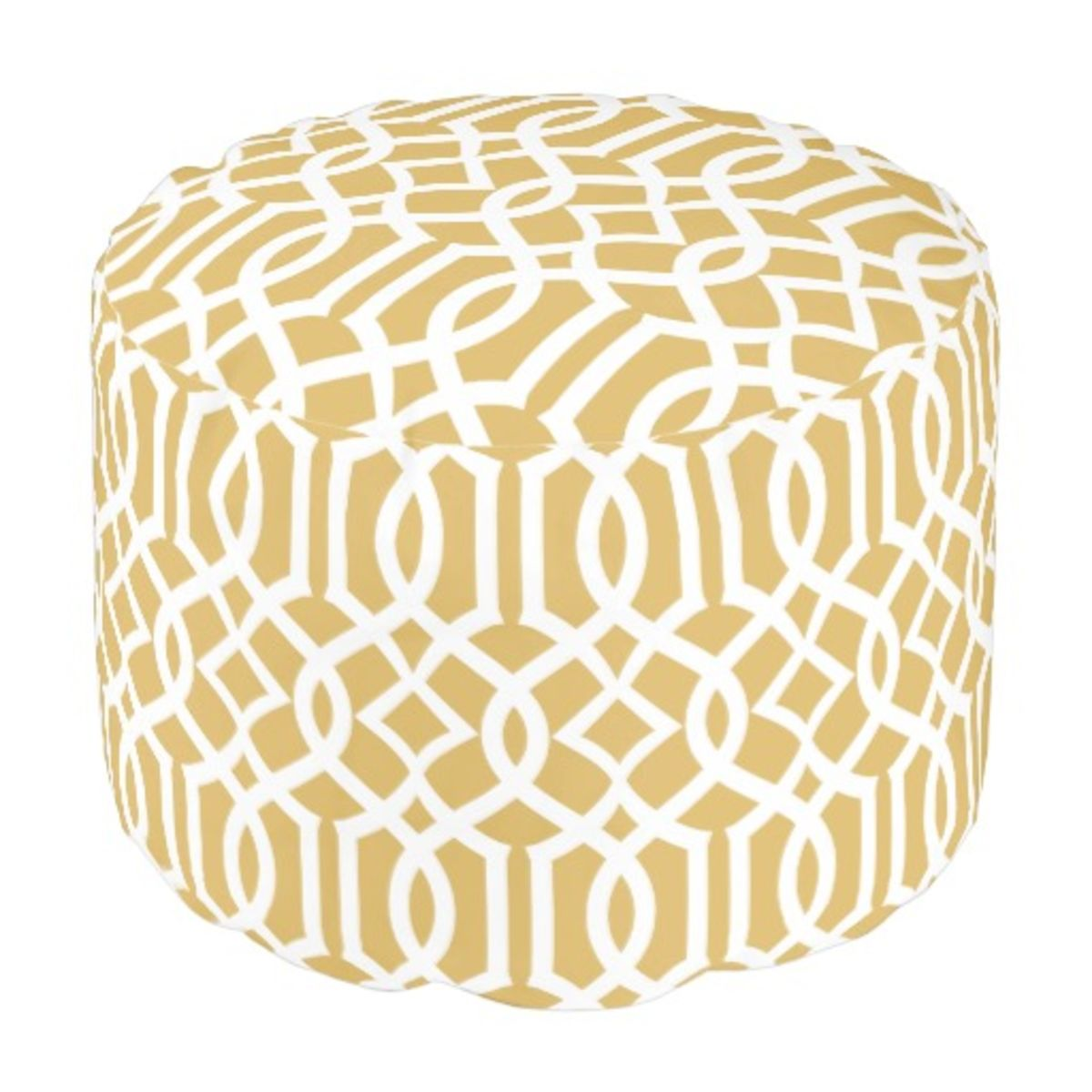 Headline for Gold Moroccan Pouf