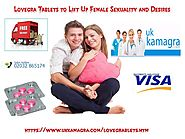 Lovegra Tablets for Female Sexual Desires