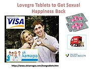 Rekindle Your Relationship with Lovegra Tablets