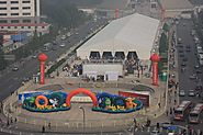 Large Outdoor Exhibition Tent | Trade Fair | Conference