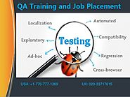 QA Online Training | QA Testing Training | Testing Tools Training USA
