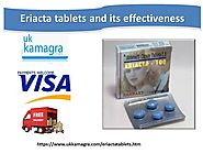 Eriacta tablets increase sexual potency for healthy erection