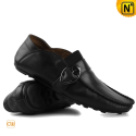 Mens Leather Driving Shoes CW709019 - cwmalls.com