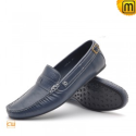 Blue Driving Loafers Shoes CW712428 - shoes.cwmalls.com