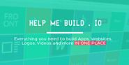 Help Me Build . IO - anyone can build websites and logos
