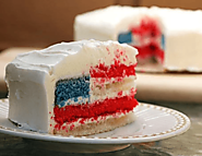 4th of July Desserts Recipes, Fourth of July Cakes, Red White Blue Cupcakes