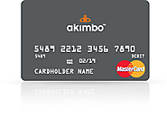Akimbo Visa Prepaid Card (US: Age limits not specified)