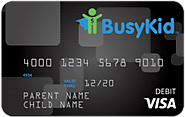 BusyKid VISA Prepaid Card (US: Ages - Any)