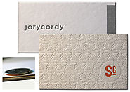 Cotton business cards | cotton paper business card