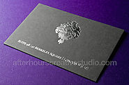 Velvet Laminated Business Cards New Design