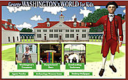 George Washington's World for Kids: Play games about our first president.
