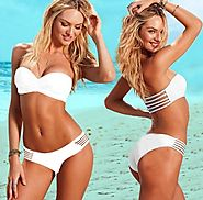 New 2015 Summer Hot Selling Women's Sexy Hollow Out Swimwears High Quality Fashion Bikini On Beach X1418-in Bikinis S...