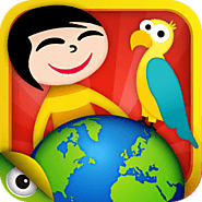 Kids Planet Discovery - games and videos to travel and learn about the world's geography, nature and cultures