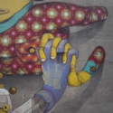 Os Gemeos and Aryz Collaborate on a Mural Worth Revisiting (Ludz, Poland)