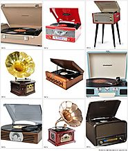Best Vintage Vinyl Record Player Turntable with Horn - Stand - Legs - Aux - Usb - Disco Lights - Ratings and Reviews ...