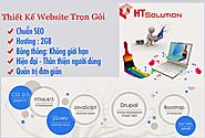 Thiết Kế Website Giá Rẻ - Htsolution.vn