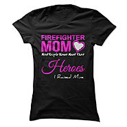 Firefighter Mom T Shirt
