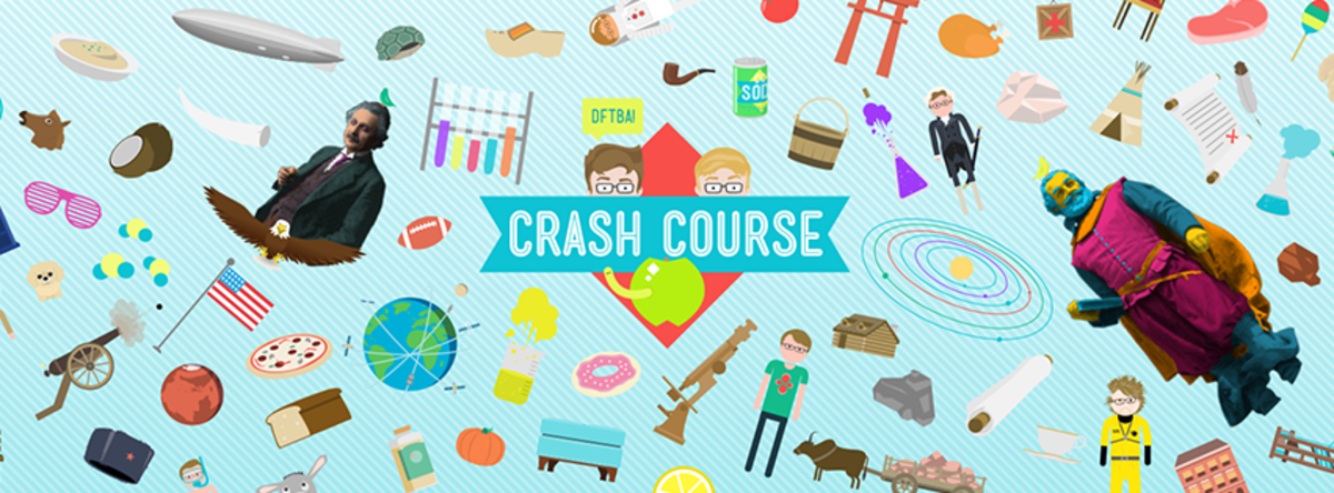 Headline for Your guide to John & Hank Green's Crash Course videos