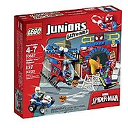 LEGO Juniors Spider-Man Hideout (10687)