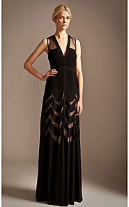 2014 Sleeveless BCBG Romy Black Temperley Style Long Evening Dress [2014 BCBG Long 0036 Black] - $173.00 : BCBG Dress...