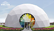 Geodomes with PVC Fabric - Large Event Marquee - Luxury Wedding Tent