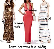 Maxi Dresses - Appropriate For An Afternoon Wedding?