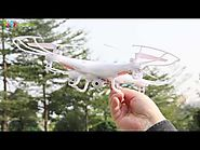 SYMA X5C LCD RC Quadcopter Aircraft 4-Channel 2.4GHz with 6 Axis Gyro & 2MP Camera 2GB Micro SD Card