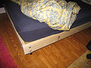 Strong and Tough Platform Bed DIY