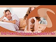 Herbal Treatment For Shighrapatan And Swapandosh In Males