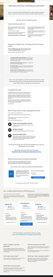 Step-By-Step Landing Page Copywriting