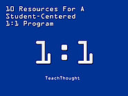 10 Resources For A Student-Centered 1:1 Program