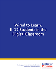 Wired to Learn: K-12 Students in the Digital Classroom