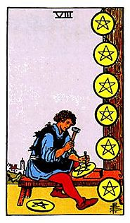 Pentacles Minor Arcana of the Raider-White tarot II - Spiritual Reading
