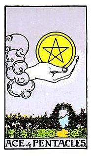Pentacles Minor Arcana of the Raider-White tarot I - Spiritual Reading