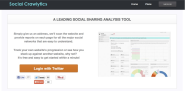 Social Media Tools | Social Media Analytics | Social Crawlytics
