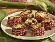 Grilled Red Corn Rounds