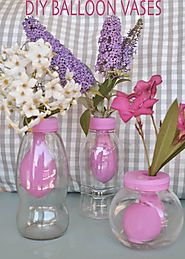 mommo design: DIY BALLOON VASES