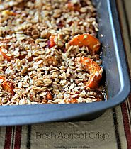 Fresh Apricot Crisp - Healthy Green Kitchen