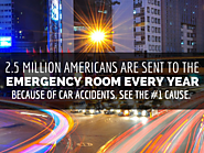 Car Accidents Send 2.5 Million Americans To The Emergency Room Every Year
