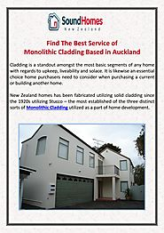 Monolithic Cladding by Sound Homes - Issuu