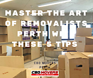 Master The Art Of House Removalists Perth With These 5 Tips